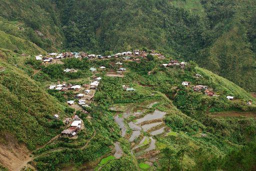 Butbut Proper village 2007, Tinglayan, Kalinga, Philippines