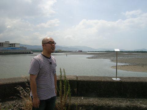 06年8月に和歌の浦にて行なったワークショップ