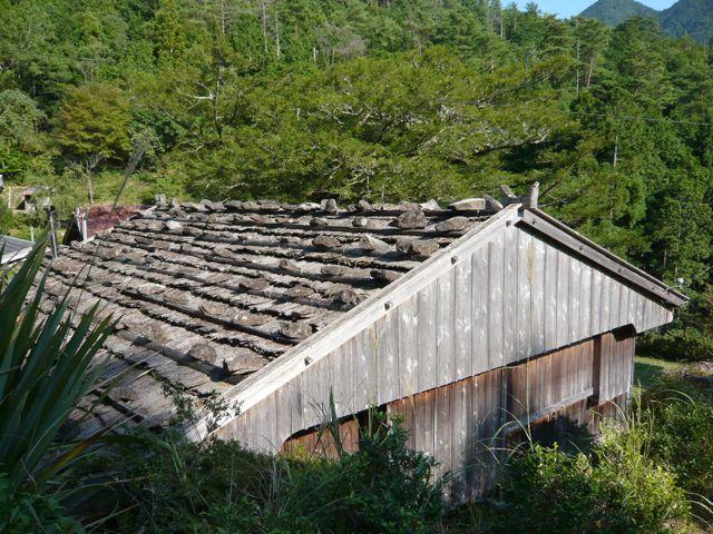 杉皮葺き_かやの木館