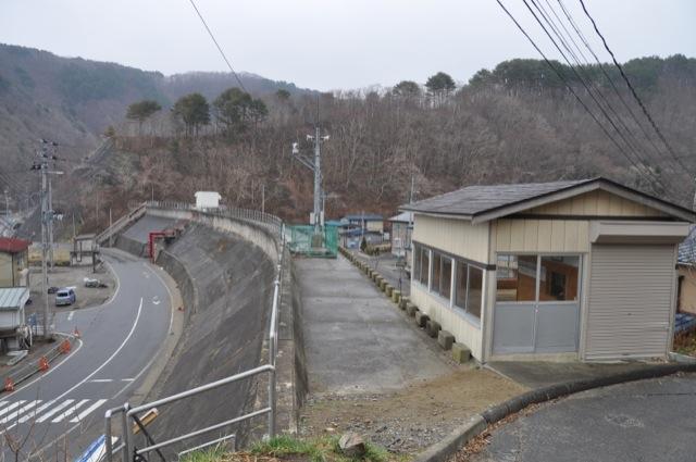 2011年4月9日太田名部の大堤防。