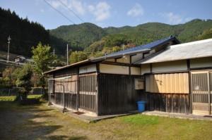 有田川町三田の災害復興公営住宅(1953)